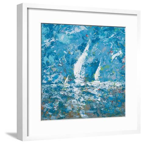Sailing II-Kingsley-Framed Art Print