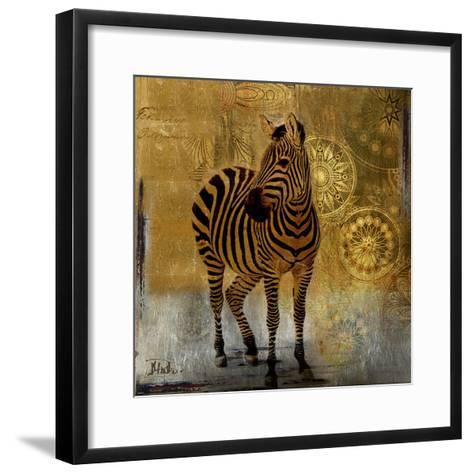 Expedition Square II-Patricia Pinto-Framed Art Print
