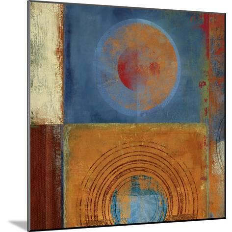 Orbis Orange and Blue-Anna Polanski-Mounted Art Print