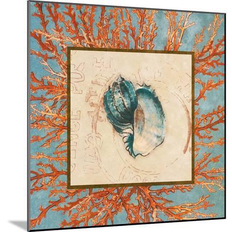 Coral Medley Shell II-Lanie Loreth-Mounted Art Print