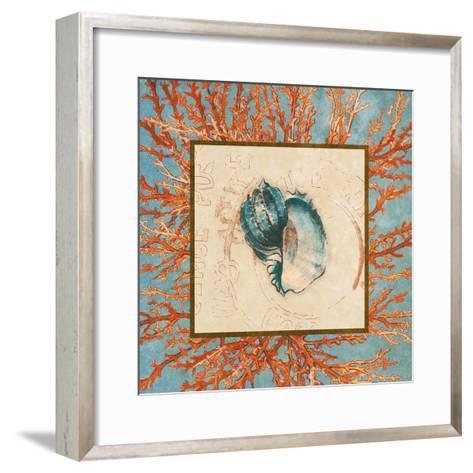 Coral Medley Shell II-Lanie Loreth-Framed Art Print