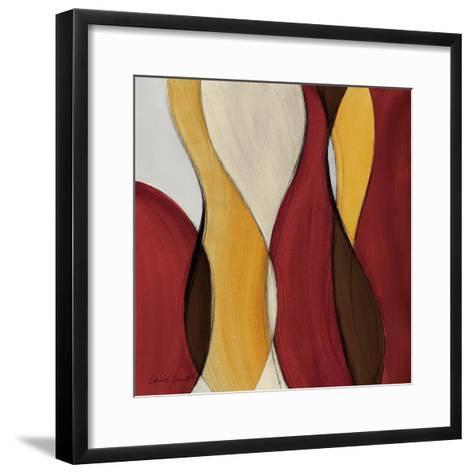 Crimson Coalescence I-Lanie Loreth-Framed Art Print