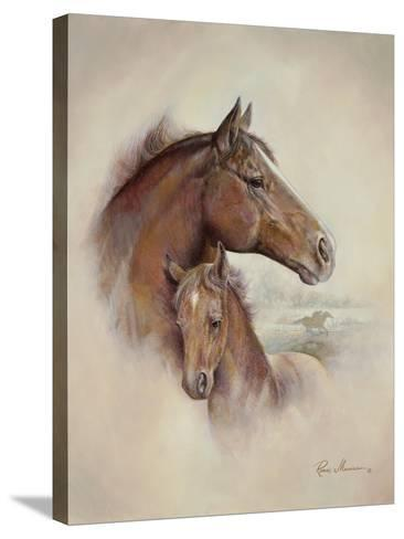 Race Horse II-Ruane Manning-Stretched Canvas Print