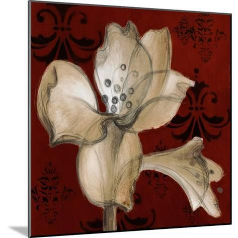 Amaryllis on Red I-Lanie Loreth-Mounted Premium Giclee Print