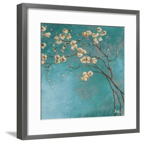 Glamorous on Teal II-Patricia Pinto-Framed Art Print