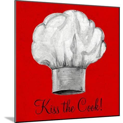 Kiss the Cook-Gina Ritter-Mounted Premium Giclee Print