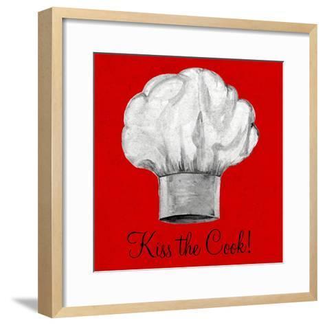 Kiss the Cook-Gina Ritter-Framed Art Print