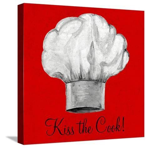 Kiss the Cook-Gina Ritter-Stretched Canvas Print