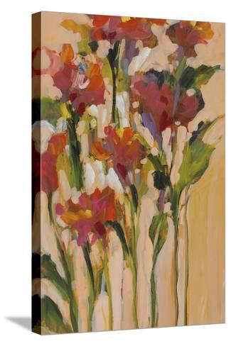 Wild Flowers I-Jane Slivka-Stretched Canvas Print