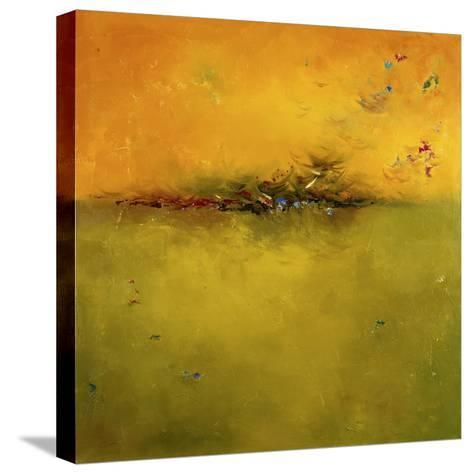 Green Sunset-Patricia Pinto-Stretched Canvas Print