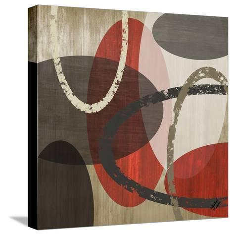 Elastic Red II-Michael Marcon-Stretched Canvas Print