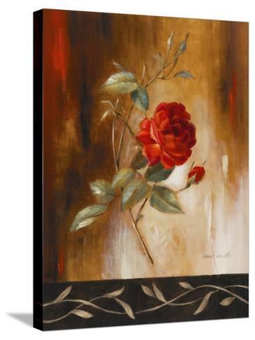 Crimson Rose I-Lanie Loreth-Stretched Canvas Print
