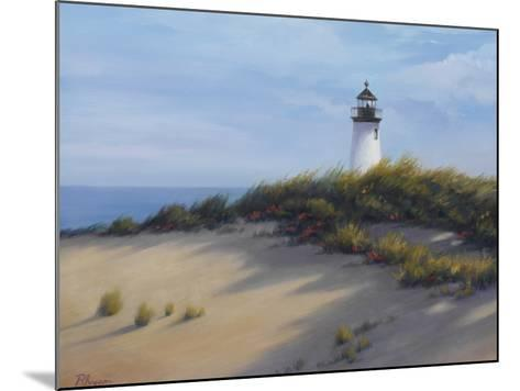 Lighthouse on the Shore-Vivien Rhyan-Mounted Premium Giclee Print