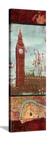 Weathered Landmark II-Elizabeth Medley-Stretched Canvas Print