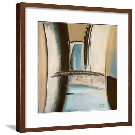 Time Flies on Blue II-Patricia Pinto-Framed Art Print
