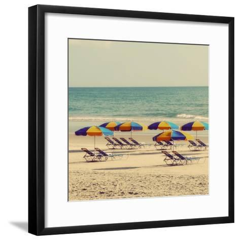 Beach Trip I-Gail Peck-Framed Art Print