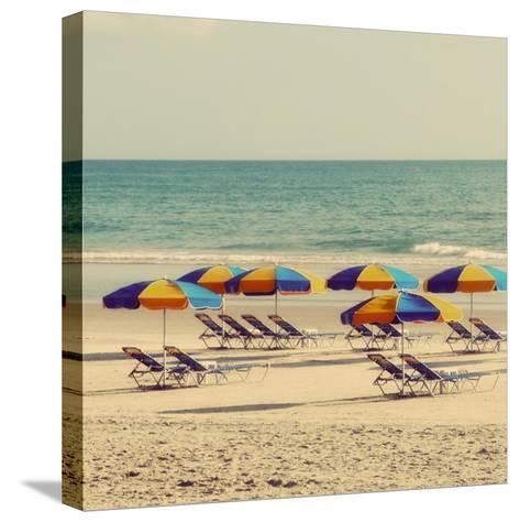 Beach Trip I-Gail Peck-Stretched Canvas Print