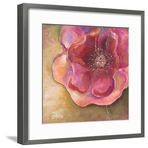 Pink Accent II-Patricia Pinto-Framed Art Print