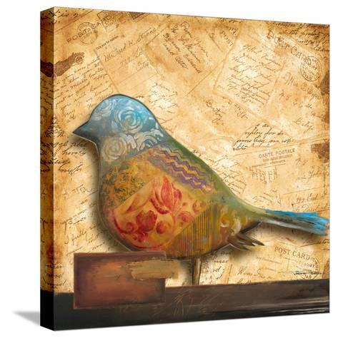 Bird of Collage I-Patricia Pinto-Stretched Canvas Print