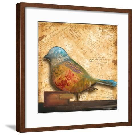 Bird of Collage I-Patricia Pinto-Framed Art Print