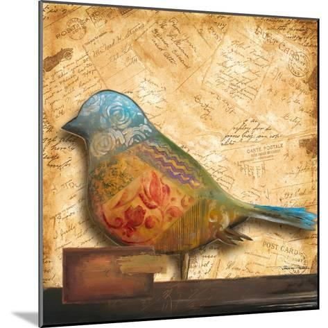 Bird of Collage I-Patricia Pinto-Mounted Premium Giclee Print