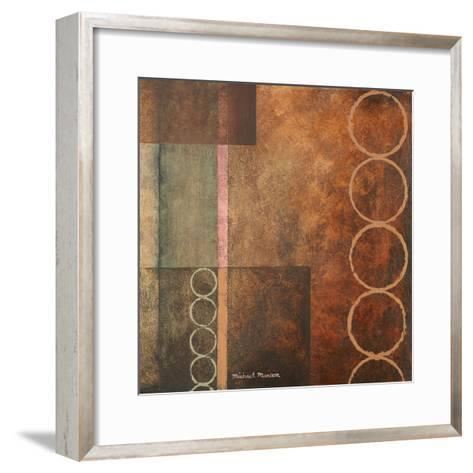 Circles in the Abstract I-Michael Marcon-Framed Art Print