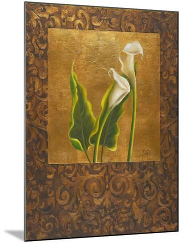Calla Lily with Arabesque II-Patricia Pinto-Mounted Art Print