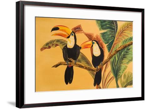 Toucans I-Linda Baliko-Framed Art Print