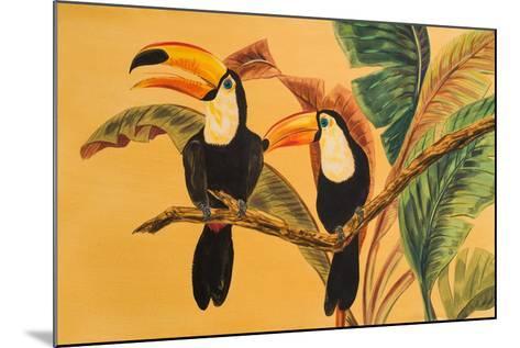 Toucans I-Linda Baliko-Mounted Art Print