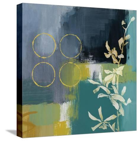 Mediterranean Floral I-Lanie Loreth-Stretched Canvas Print