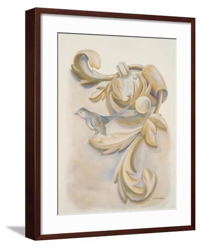 Season's Crest II-Hakimipour-ritter-Framed Art Print
