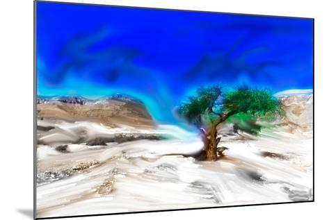 Trees Alive I-Ynon Mabat-Mounted Art Print