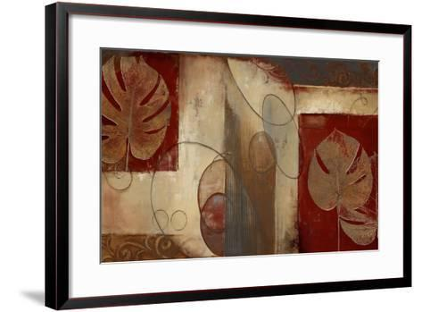 Inspiration in Crimson-Patricia Pinto-Framed Art Print