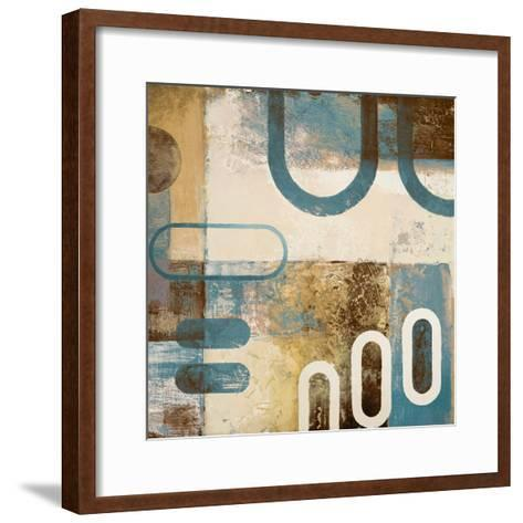 Playing with Shapes I-Michael Marcon-Framed Art Print