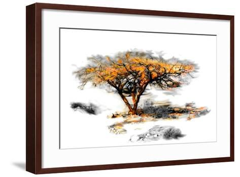 Trees Alive II-Ynon Mabat-Framed Art Print