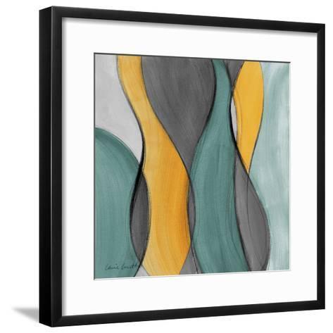 Coalescence in Gray I-Lanie Loreth-Framed Art Print