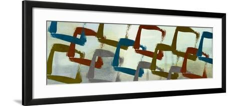 Abstract Squared II-Michael Marcon-Framed Art Print