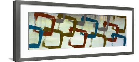 Abstract Squared I-Michael Marcon-Framed Art Print