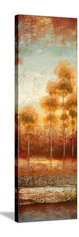 Glowing Red Trees II-Michael Marcon-Stretched Canvas Print