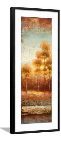 Glowing Red Trees II-Michael Marcon-Framed Art Print