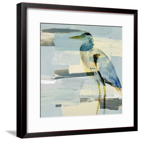 Great Blue Heron-Lanie Loreth-Framed Art Print