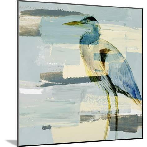 Great Blue Heron-Lanie Loreth-Mounted Premium Giclee Print