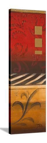 Red Collage I-Patricia Pinto-Stretched Canvas Print