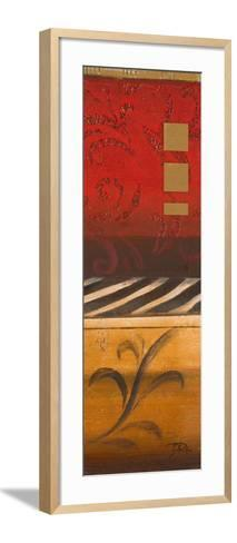 Red Collage I-Patricia Pinto-Framed Art Print