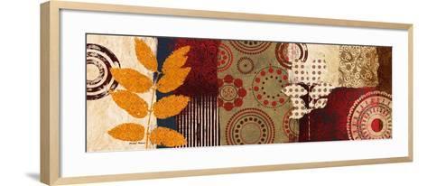 Fall Leaf Panel II-Michael Marcon-Framed Art Print