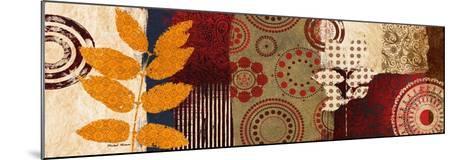 Fall Leaf Panel II-Michael Marcon-Mounted Premium Giclee Print