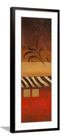 Red Collage II-Patricia Pinto-Framed Art Print