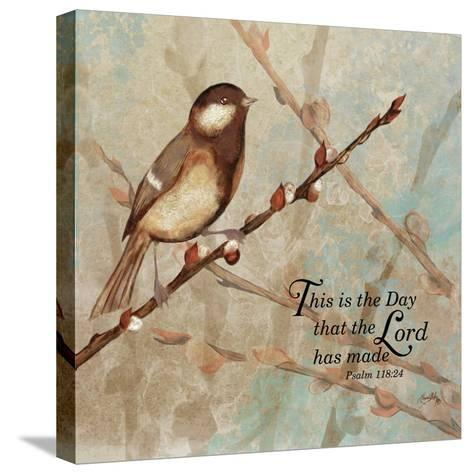 This is the Day-Elizabeth Medley-Stretched Canvas Print