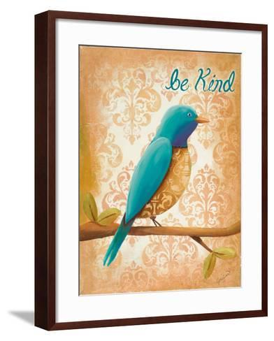 Be Kind-Josefina-Framed Art Print