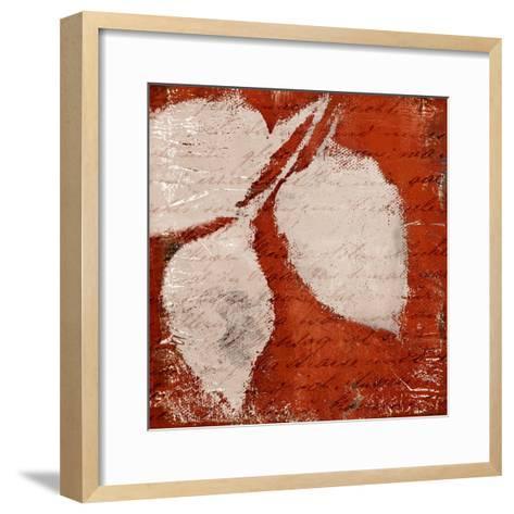 Red Impressions II-Lanie Loreth-Framed Art Print